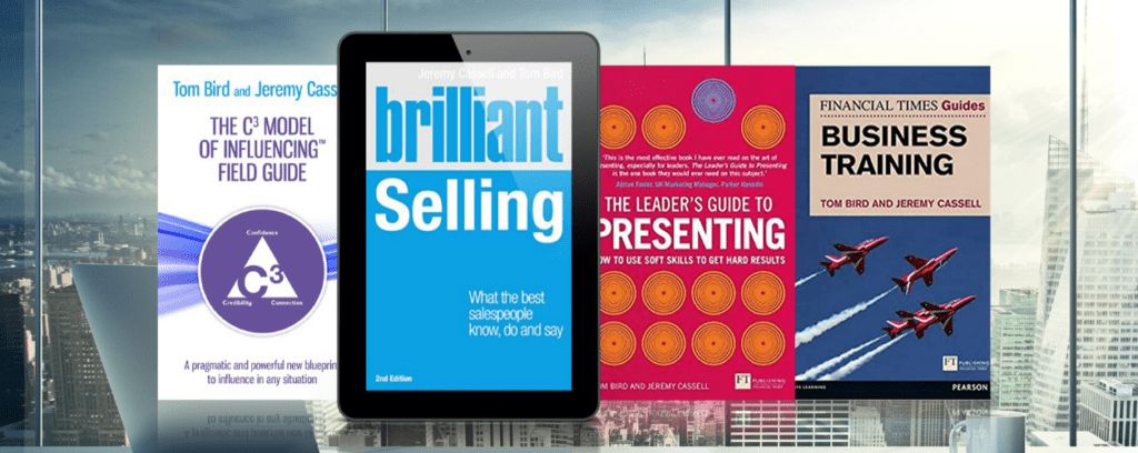 books by Jeremy Cassell social selling presentations impromptu speeches