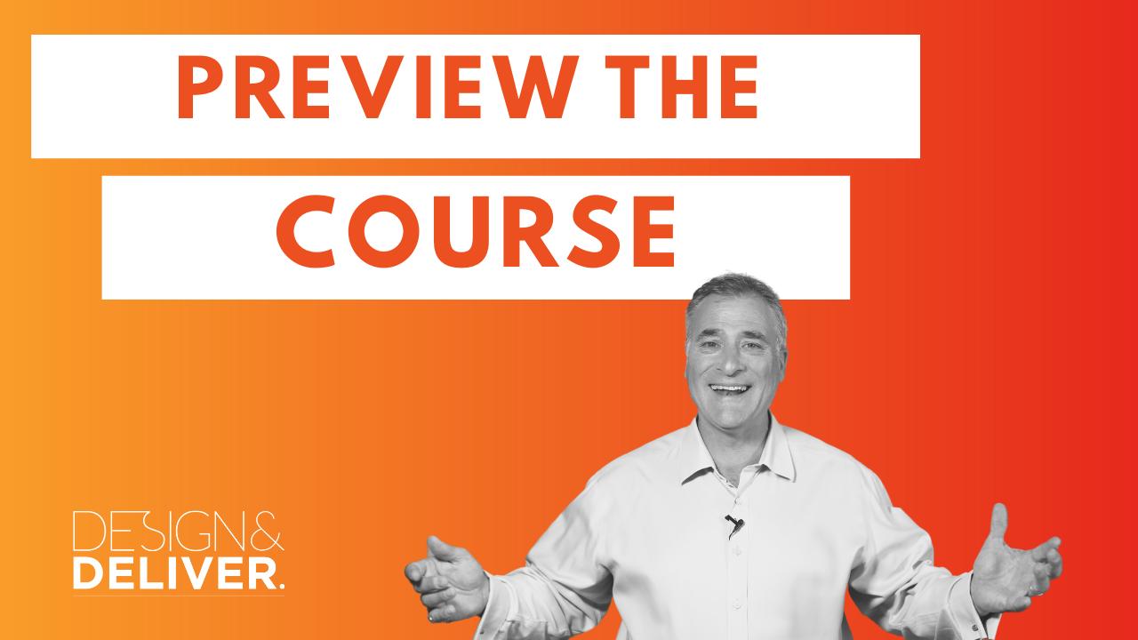 preview Design & Deliver presentation coach