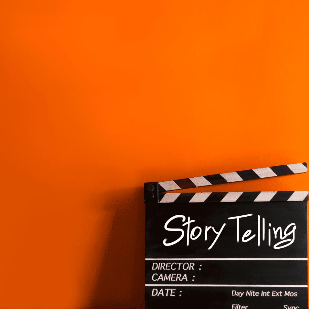 storytelling in a presentation