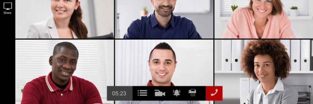 group training presentation virtual covid support