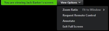 remote access desktop zoom