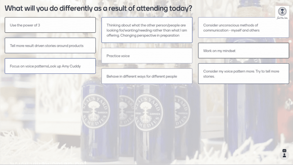 webinar impact on audience