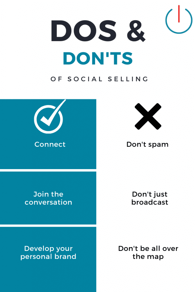social selling business development