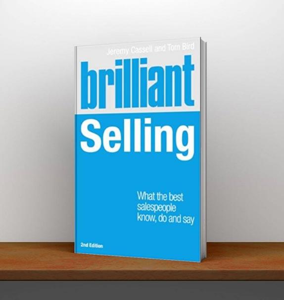Brilliant selling book on shelf